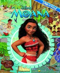 Moana Look and Find