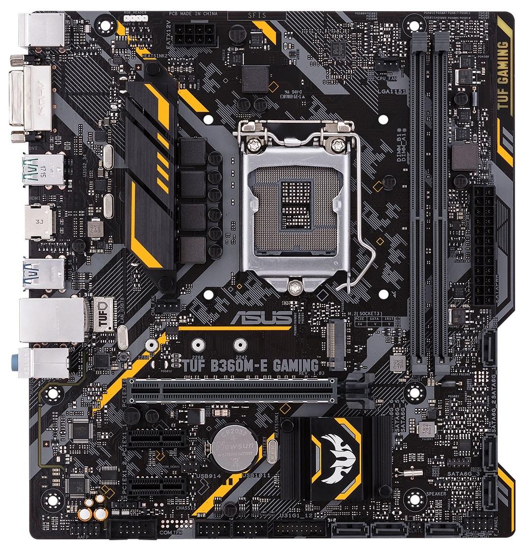 ASUS TUF B360M-E GAMING Motherboard image