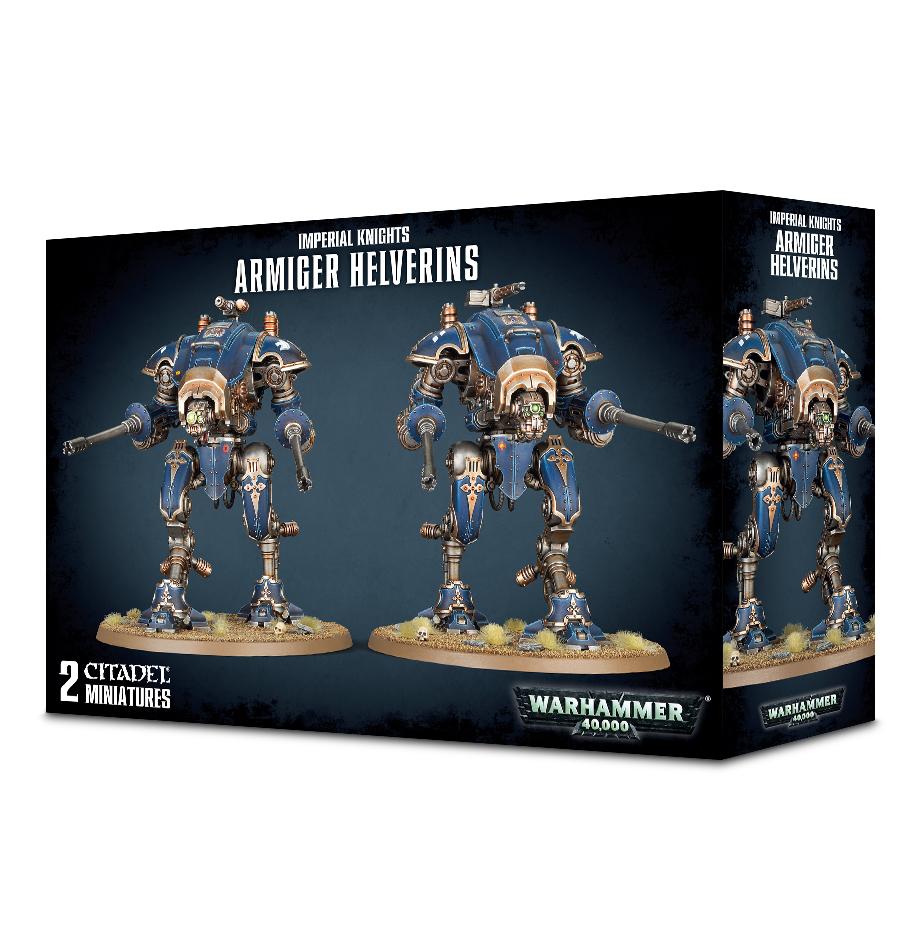 Warhammer 40,000 Imperial Knights - Armiger Helverins image