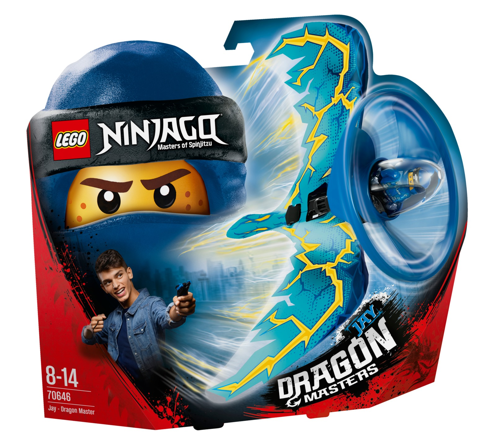 LEGO Ninjago - Jay Dragon Master (70646) image