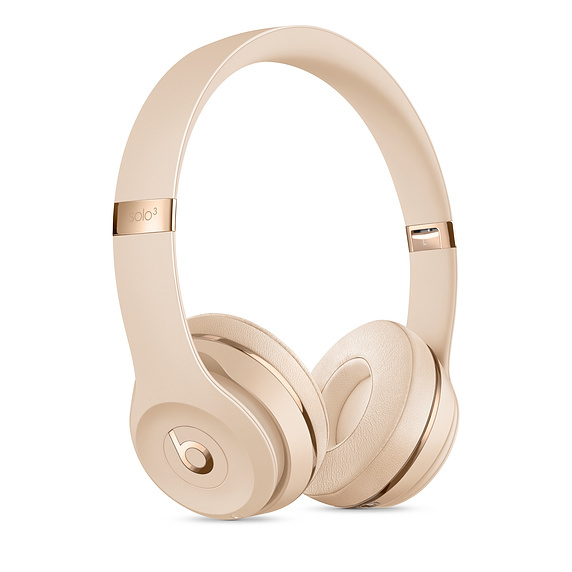 Beats: Solo3 Wireless Headphones - Satin Gold