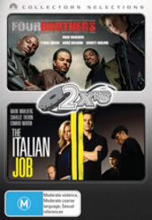 2x's - Four Brothers / Italian Job (2003) (Collectors Selections) (2 Disc Set) on DVD