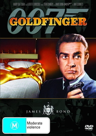 James Bond - Goldfinger on DVD