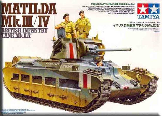 Tamiya British Infantry Tank Matilda - Mk.III/IV 1/35 Model Kit