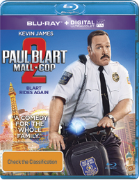 Paul Blart: Mall Cop 2 on Blu-ray