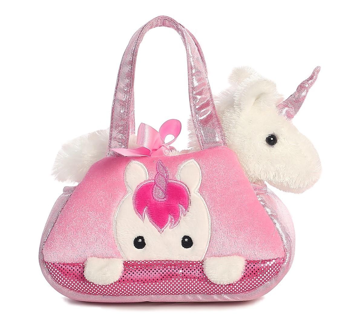 Aurora: Fancy Pal Pet Carriers - Peek a Boo Unicorn image