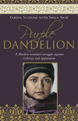 Purple Dandelion by Farida Sultana