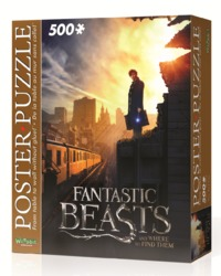 Fantastic Beasts: 500pc Poster Puzzle (New York City)