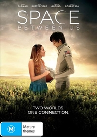 The Space Between Us on DVD