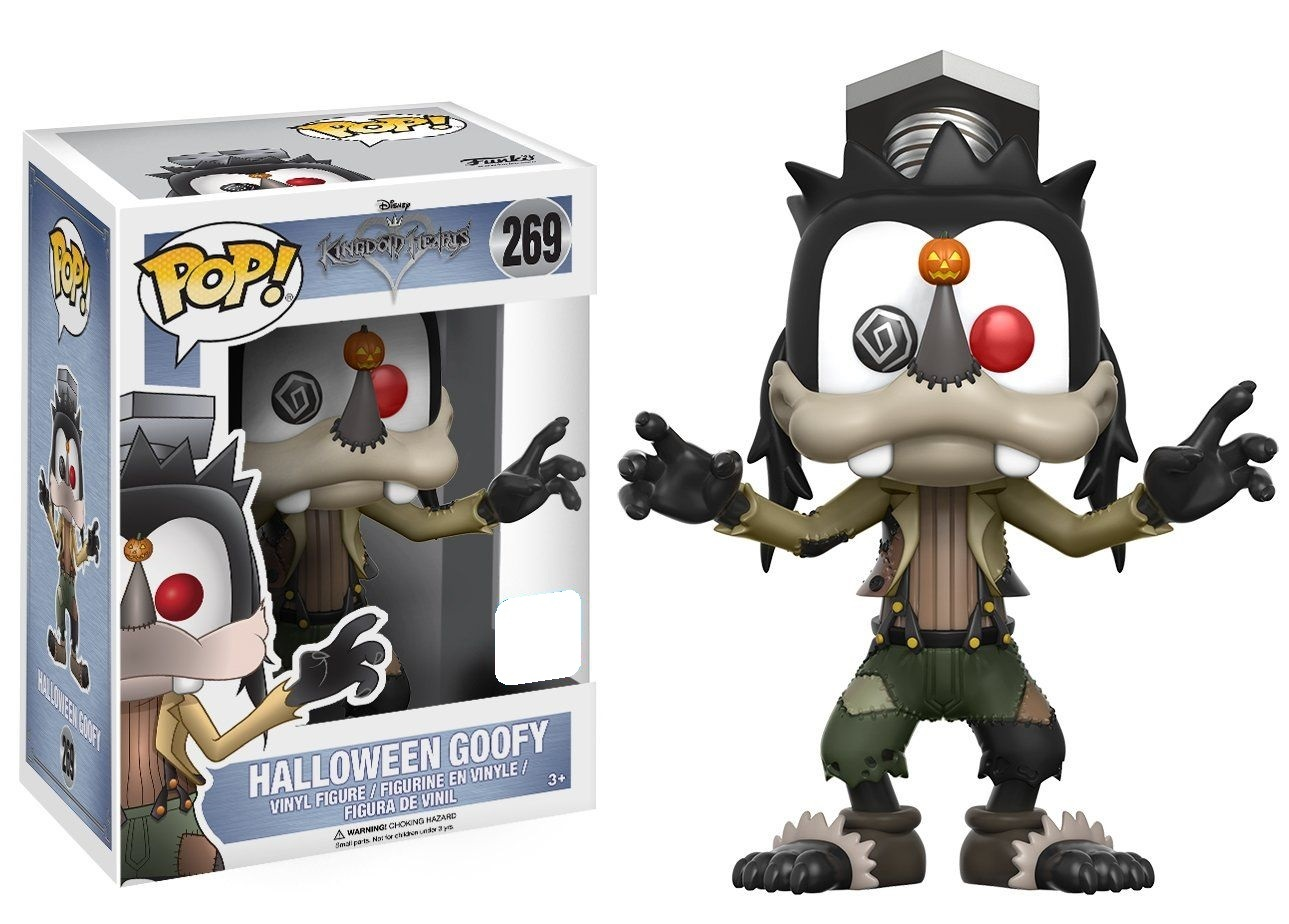 Kingdom Hearts - Goofy (Halloween Ver.) Pop! Vinyl Figure (LIMIT - ONE PER CUSTOMER) image