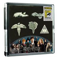 Harry Potter: Pewter Pin - 5-Pack (SDCC 2017 Exclusive)