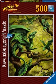 Ravensburger : Forest Dragon Puzzle 500pc
