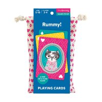 Mudpuppy: Rummy! - Playing Cards