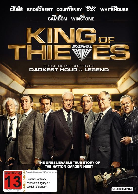 King Of Thieves on DVD