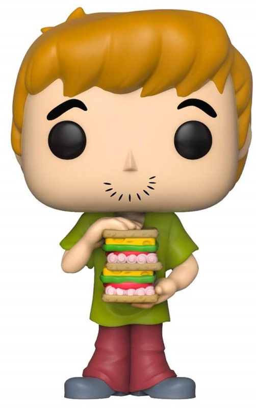 Scooby Doo - Shaggy (with Sandwich) Pop! Vinyl Figure