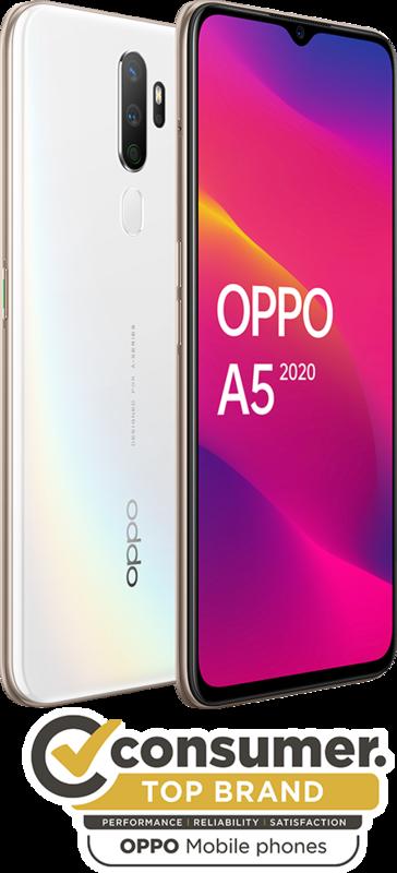 OPPO A5 (2020) (64GB/3GB RAM) - Dazzling White