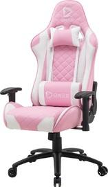 Aerocool ONEX GX330 Series Gaming Chair (Pink & White) for