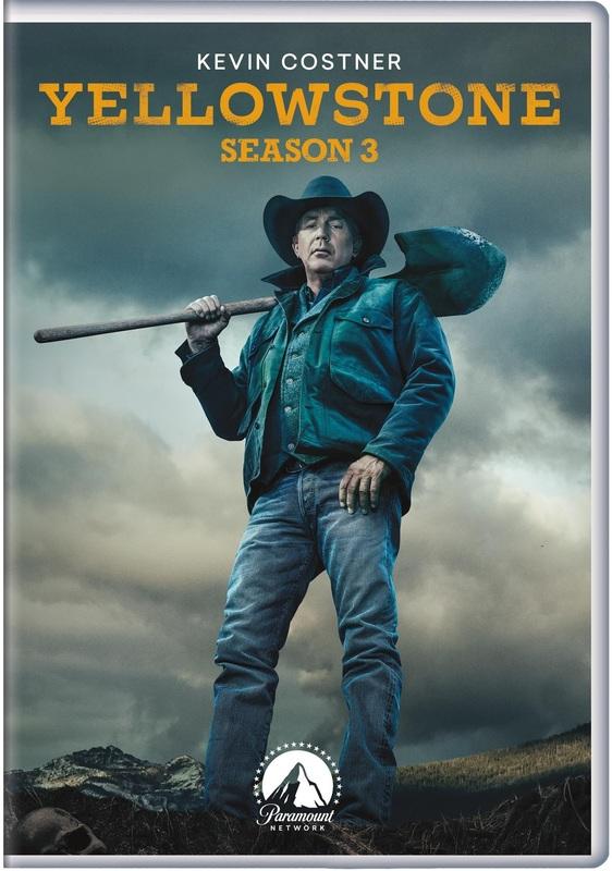Yellowstone - Season 3 on DVD