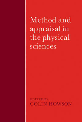 Method and Appraisal in the Physical Sciences image
