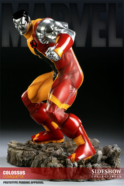 X-Men Colossus Polystone Comiquette Statue images, Image 1 of 7