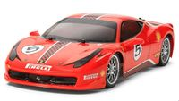 Tamiya Ferrari 458 Challenge (TT02 Chassis) 1/10 RC Kitset