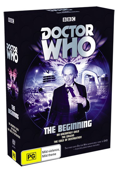 Doctor Who - The Beginning Box Set on DVD image