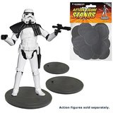 Action Figure Stands 25-Pack - Grey