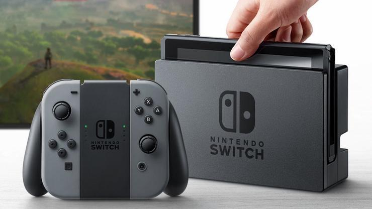 Nintendo Switch Grey Console for Switch image