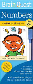 Brain Quest Write & Erase Set: Numbers image