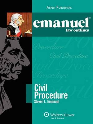 Emanuel Law Outlines: Civil Procedure image