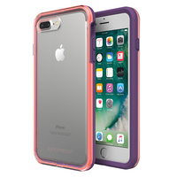 LifeProof Slam Case for iPhone 7 Plus/8 Plus - Coral Lilac