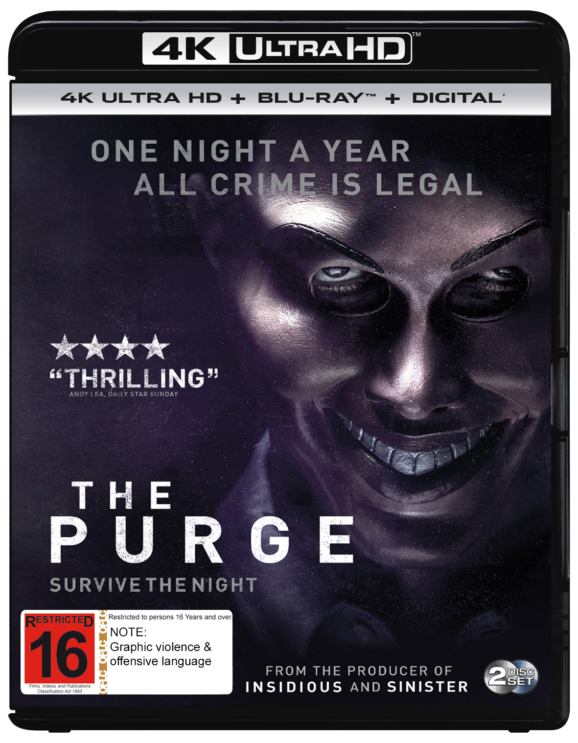 The Purge on UHD Blu-ray image