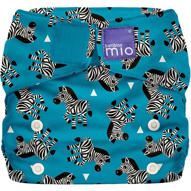 Bambino Mio: Miosolo All-in-One Nappy - Zebra Crossing
