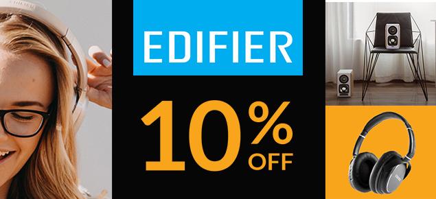 Edifier 10% Off