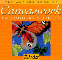The Anchor Book of Canvaswork Embroidery Stitches by Eve Harlow image