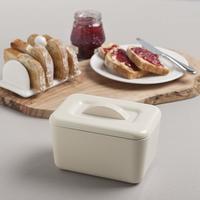 Zeal Butter Dish - Cream