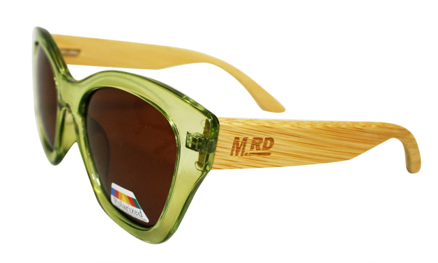 Moana Rd: Hepburns Sunglasses - Green