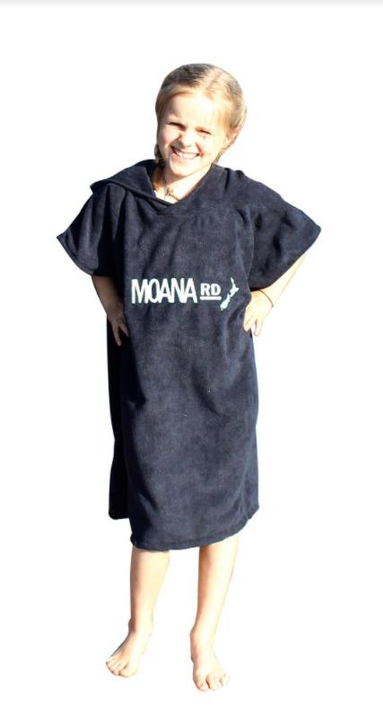 Moana Road: Kids Towel Hoodie - Pink image