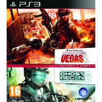 Tom Clancy's Ghost Recon Advance Warfighter 2 & Rainbow Six Vegas 2 (Double pack) for PS3