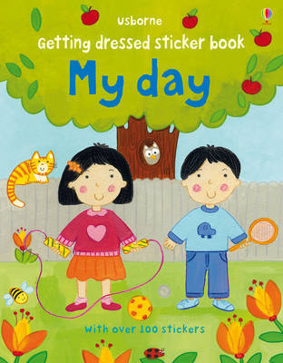 Getting Dressed Sticker Book by Felicity Brooks