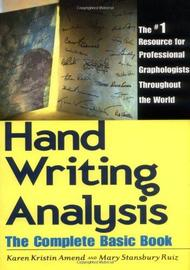 Handwriting Analysis by Karen Amend image