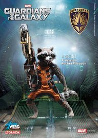 Guardians of the Galaxy: Rocket Raccoon - Vignette Model Kit