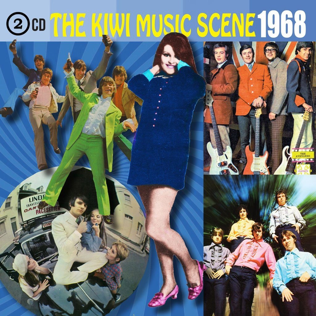 The Kiwi Music Scene 1968 by Various image