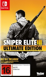 Sniper Elite 3 Ultimate Edition for Switch