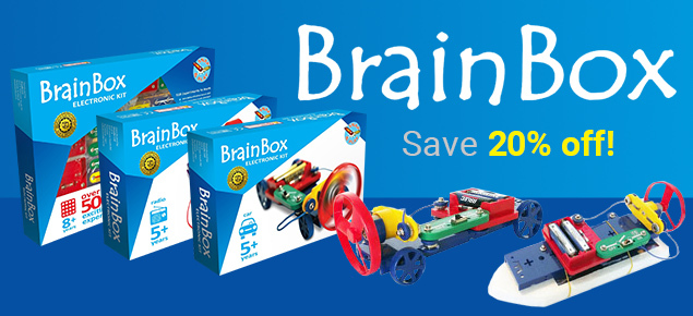 20% off Brain Box!