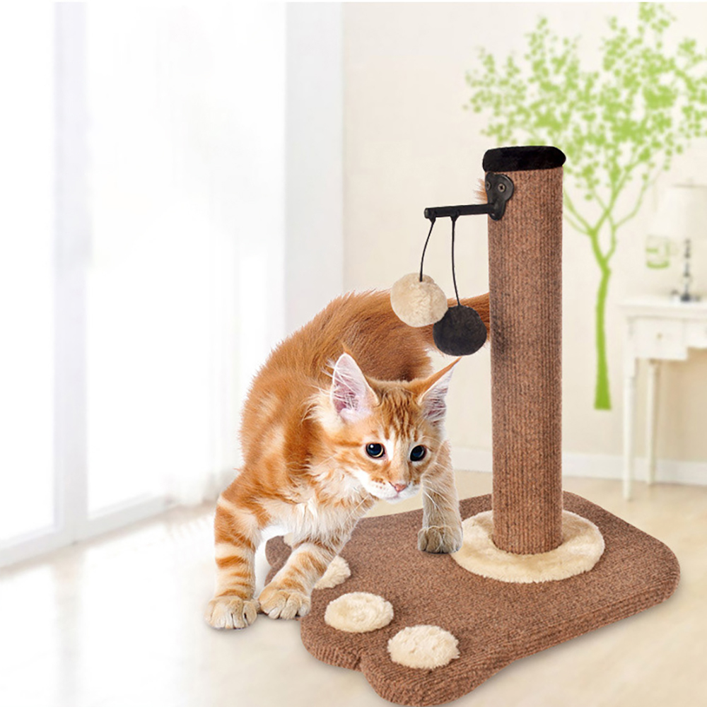 Ape Basics: Cat Scratch Post Climbing Toy image