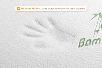 Ovela: Bamboo Memory Foam Mattress Topper - Queen