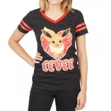 Pokemon Eevee Slim Fit T-Shirt (Large)