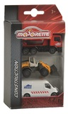 Majorette: Construction Vehicles - 3-Pack