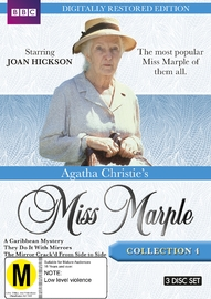 Agatha Christie's Miss Marple - Collection 4 (Restored Edition) on DVD